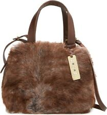UGG Bag Vilet Toscana Sheep Shearling Satchel Crossbody Pinecone NEW $275 retail
