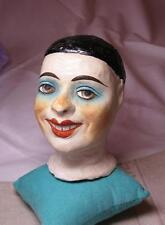 Clown Pierrot Pitre Poupée FRENCH BOUDOIR MANNEQUIN DOLL HEAD Circus Cirque