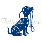 Tattered lace metal CUTTING Die Puppy dog D1122