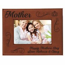 Personalized 4 x 6 Mom Picture Frame - Custom Mothers Day Gift For Her