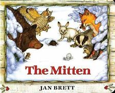 The Mitten by Jan Brett (1996, Board Book)