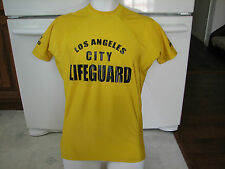 Lifeguard Los Angeles City beaches official Rashguard shirt men's large  RARE