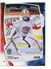 2011-12 Hamilton Bulldogs Robert Mayer (goalie)