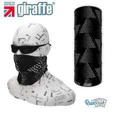 G551 Nero Tri multifunzionale Headwear Fascia per capelli bandana basso di lenza esecuzione CICLO DI SCI