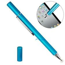 Fine Point Round Thin Tip Capacitive Stylus Pen for iPad air/mini iphone HotA TL