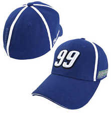 Carl Edwards Chase Authentics #99 Fastenal Back Stretch Fitted Hat FREESHIP
