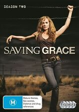Saving Grace : Season 2 (DVD, 2012, 4-Disc Set) NEW