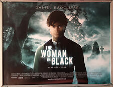 Cinema Poster: WOMAN IN BLACK, THE 2012 (MainQuad) Daniel Radcliffe Janet McTeer