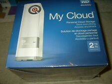 new WD Absolutely 2TB My Cloud Personal Cloud Storage external hard drive hdd 1