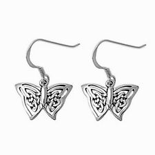 Dangle Butterfly Hook Earrings Sterling Silver 925 Best Deal Jewelry USA Seller