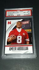 2015 Panini National Convention #65 Ameer Abdullah Rookie PSA 8.5 NM-MT+