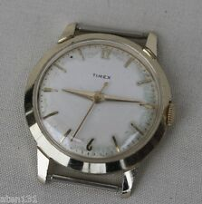 VINTAGE TIMEX ALUMINUM MENS WATCH SCARCE MAD MEN ERA