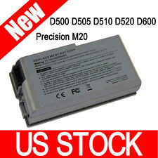 New 5200mAh Battery for Dell Latitude D610 D600 D510 D520 D500 D505 D530 C1295