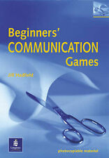 Beginner's Communication Games (Photocopiable ELT Games and Activities Series),
