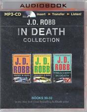 J D Robb Unabridged MP3 Collection #7 Include Books 30-32 of the In Death Series