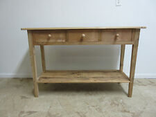 Reclaimed Barn Wood Rustic Server Sideboard  Buffet Amish Made Shaker Console
