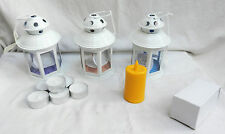 Lantern & Candle Set - Be Prepared for the next Storms & Power Cuts........
