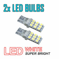 2X Led Side Light Xenon White Car Bulb 501 T10 W2,1X9,5D 9X 1210 Smd 12V Dc 72