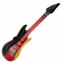 4 Stück Aufblasbare Luftgitarren Deutschland 100 cm Luftgitarre Air Luft Guitar
