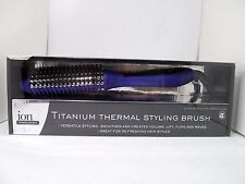Titanium Thermal Styling Brush Ion Professional Hair Styling Tools & Salon