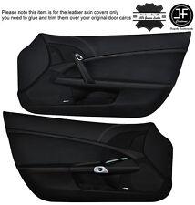 Grey stitch pour chevrolet corvette C6 2005-13 custom en cuir panneau de porte couvre