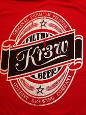 VINTAGE KR3W BEER T SHIRT XL