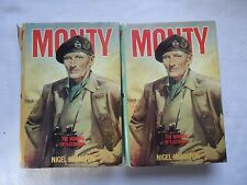 VOL 1 & 2 Monty: The Field-Marshal 1944-1976 by Nigel Hamilton (1986, Hardcover)