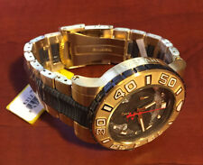 @NEW Invicta Reserve Ocean Hawk 6312 Gold Tone Poly Watch Chronograph Bracelet