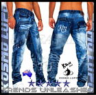 New SIZE 29 30 31 32 33 34 35 36 37 38 Men's Kosmo Lupo Jeans Man's Jeans For