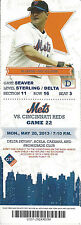 Al Leiter 2000 All-Star Mets vs. Reds Citi Field Ticket Stub May 20 2013 Game 22