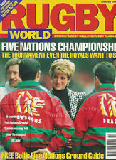 RUGBY WORLD MAG FEBRUARY 1994 - WHARFEDALE, HORDEN, STROUD, PONTYPOOL FRONT ROW