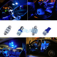 10000K Blue Interior LED Lights Package Bulb SMD For 07-13 Chevy Silverado *p