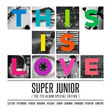 SUPER JUNIOR 7th Special Album [THIS IS LOVE]CD Album Random Cover K-POP Sealed