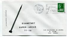 1976 Exametnet Super Arcas 35/88 Kourou Guyane Francaise Ville Spatiale SPACE