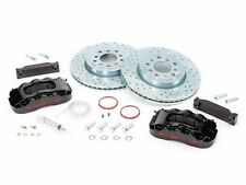 "BAER Brake System 13.5"" Front PRO 6P Kit - Black / Red 07-16 Jeep Wrangler JK"