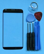Black Genuine Motorola Moto X 1st Front Outer Screen Glass Lens/Digitizer Cover