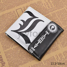 Anime Death Note Cosplay Wallet PU Leather Card Holder Short Purse Unisex Gift