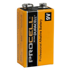 CASE 12 NEW DURACELL PROCELL 9V 9 VOLT Alkaline Batteries EXP in 2020 !!