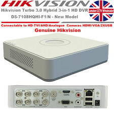 8 Channel Hikvision BNC Turbo HD-TVI Surveillance  Recorder DVR-DS-7108HQHI-F1/N