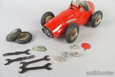vintage schuco 1070 Grand Prix Racer + parts + tools , made in US zone germany