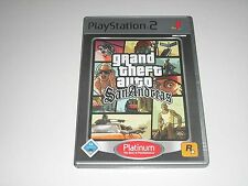 Ps2-Grand Theft Auto San Andreas ** Playstation 2 gioco GTA