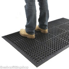 Shop Entrance NONE SLIP Rubber Door Mat 150cm x 90cm Indoor Outdoor Anti Fatigue
