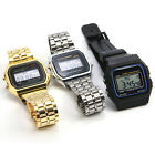 Vintage Women Men Stainless Steel Classic Watch Sport LED Digital Bracelet New