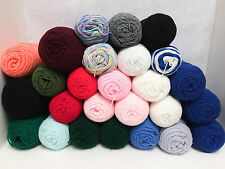Red Heart SUPER SAVER Yarn ~ HUGE LOT of 26 ~Variety of Colors~11+ lbs~FREE SHIP