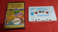 THE BEATLES - A COLLECTION OF BEATLES' OLDIES - UK CASSETTE TAPE - GOLD INLAY