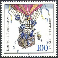 Germany 1992 Stamp Day/Balloon Post/Air Balloon/Aviation/Transport 1v (n27898)