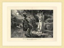 Armin bei Seherin vor Entscheidungsschlacht mit Germanicus HOLZSTICH G202