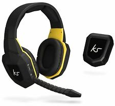 KITSOUND STORM INALÁMBRICO GAMING AURICULARES & MICRO PS4/PS3 PC XBOX ONE/360