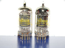 2 x 12AX7A Raytheon-Baldwin Tubes*Long Black Plates*O getter*Matched*#2
