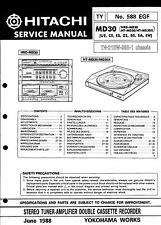 Hitachi Original Service Manual für MD 30  HT